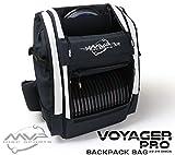MVP Disc Sports Voyager Pro Backpack Disc Golf Bag - White