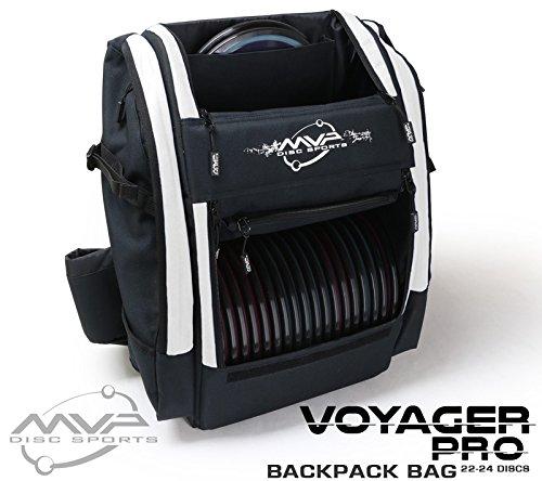 (MVP Disc Sports Voyager Pro Backpack Disc Golf Bag -)