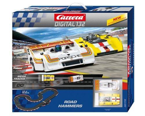 Carrera Digital 132 Road Hammers Race Set - Porsche Road Racing Set