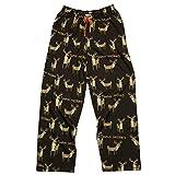 Trophy Husband Men's Pajama Pants Bottom by LazyOne | Pajama Bottom for Men (Large)