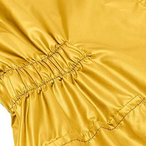 Capuche Sweatshirt De Tops Légère Imperméable Blouson Shobdw Manteau Actif Mode À Femme Extérieur Jaune Pluie Pullover Cagoule Hoodie Veste Hiver Blouse 4q4pBgPa