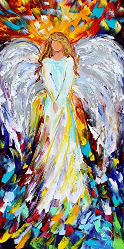 Angel Art print - Angel of Hope - Karen Tarlton, 10x20, 12x24, 18x36 inches
