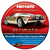Mothers 05550-6 California Gold Pure Brazilian Carnauba Wax Paste (Ultimate Wax System, Step 3) - 12 oz., (Pack of 6)