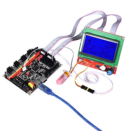 Zamtac SKR V1.3 3D Printer Controller Board ARM 32 Bit Mainboard TMC2208 Compatible Smoothieboard Marlin 3D Printer - (Size: with TMC2100 x5) by GIMAX (Image #4)