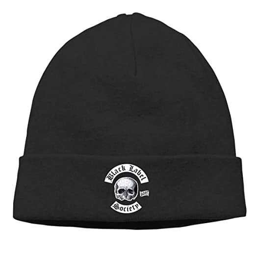 9fd026316461c Edgar John Unisex Black Label Society Skull Hats Knitted Hat Beanie Black