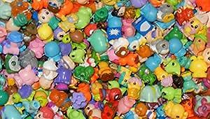 Squinkies for Girls & Boys: Fairies, Figures, Fantasy, Animals, Birds, Cartoon Characters - 20pc Mixed