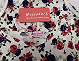 Messy Code Baby Girls Rompers Onesies Pompom