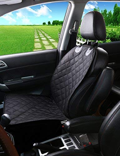 Alfheim Nonslip Rubber Backing Front Seat Cover With