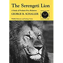 The Serengeti Lion: A Study of Predator-Prey Relations