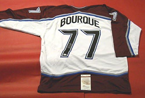 973aa04a Ray Bourque Autographed Jersey - Raymond - JSA Certified - Autographed NHL  Jerseys