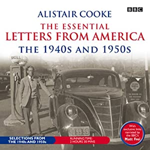 Alistair Cooke Radio/TV Program