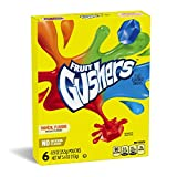 #6: Betty Crocker Fruit Snacks, Gushers, Variety Snack Pack, 6 Pouches, 0.9 oz Each