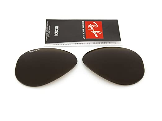 Ray Ban replacement lenses RB3025 Aviator large Metal GENUINE ...