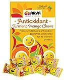 ARYA Turmeric Antioxidant Gummy Chews, 30 Count, Mango, 0.14 Ounce (Pack of 30)