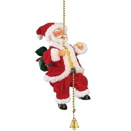 A2Z, Christmas Musical Climbing Santa Christmas Xmas Decoration