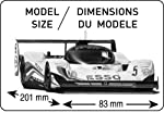 Heller Peugeot 905 EV 1 Bus Car Model Building Kit by MMD Holdings, LLC