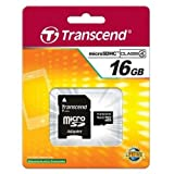 Samsung Galaxy S4 Cell Phone Memory Card 16GB microSDHC Memory Card with SD Adapter