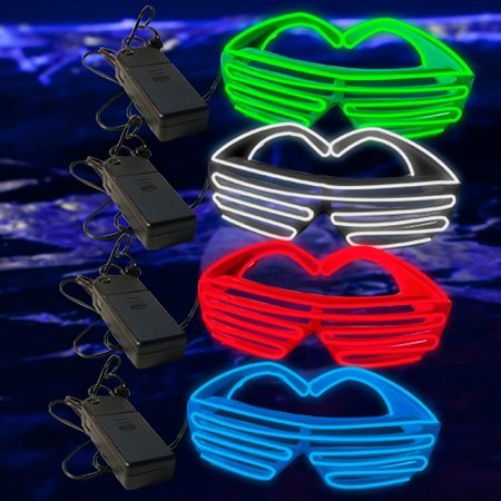 GlowUP EL Wire Stunner Shades