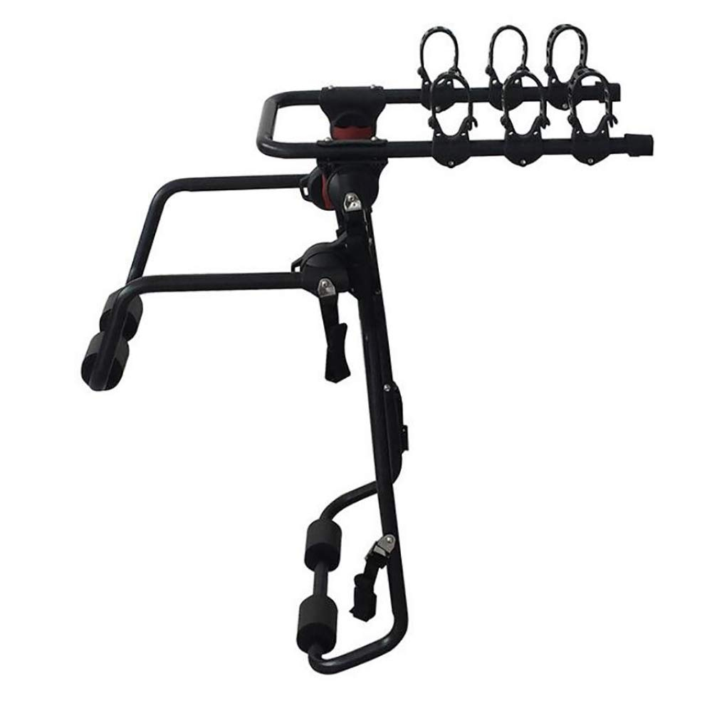 Car Rack Bicycle Carrier Rear-Mounted for 3 Bikes Awsgtdrtg