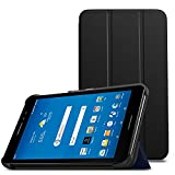MoKo AT&T Trek 2 HD / ZTE ZPad 8 Tablet Case - Lightweight Slim Smart shell Stand Cover Case with Auto Wake / Sleep for AT&T Trek 2 HD / ZTE Trek 2 HD K88 / ZTE ZPad 8 Inch Tablet, Black