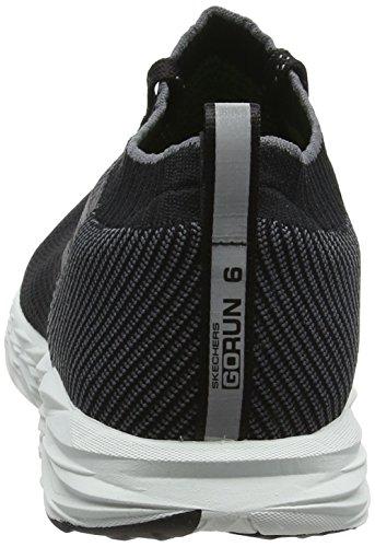 Skechers Mens Gorun 6 Zwart / Wit