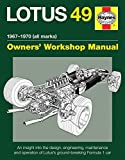 By Ian Wagstaff Lotus 49 Manual 1967-1970 (all marks): An insight into the design, engineering, maintenance and oper [Hardcover]