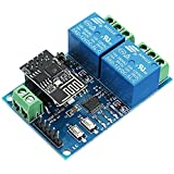 12 V esp8266 Dual WIFI Relais Modul Internet der Dinge Smart Home Mobile App Remote Switch