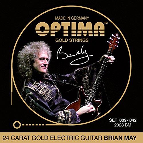 """Optima 2028 BM GOLD Strings """"Brian May"""" Set"""