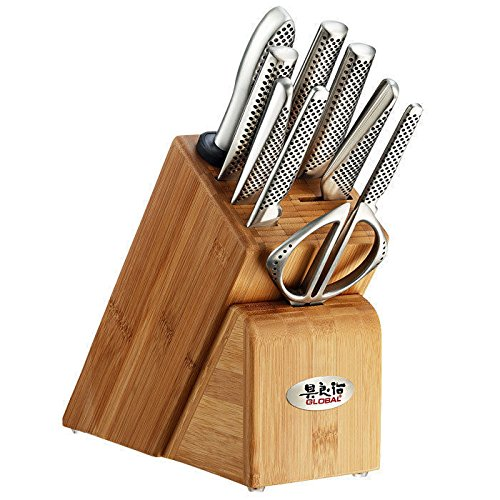 Global G-79589AU Block-Knife-Sets (Blade Offset Global)