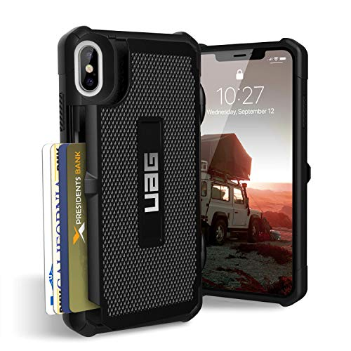 (URBAN ARMOR GEAR UAG iPhone Xs Max [6.5-inch Screen] Trooper Feather-Light Rugged [Black] Military Drop Tested iPhone Case)