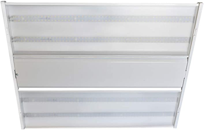 Weize Linkable LED Shop Light for Garage 5000K Daylight LED Workbench Light with Plug 250W Equivalent Hanging or Surface Mount Black-4 4FT 36W Utility Light Fixture for Workshop Basement
