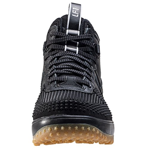 Nike Mens Lunar Force 1 Stivale Anatra Nero