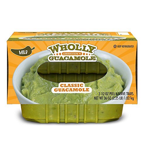 Wholly Guacamole Classic Guacamole, Mild (12 oz. trays, 3 ct.) (pack of 2) by Wholly Guacamole