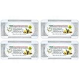 Air Absorber and Odor Eliminator-4 packs Natural Nano Charcoal Odor Deodorizer and Air Freshener