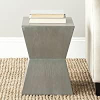 Safavieh American Homes Collection Lotem French Grey Accent Table