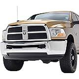 E-Autogrilles Aluminum 8mm Black Horizontal Overlay Billet Grille for 10-12 Dodge Ram 2500 / 10-12 Dodge Ram 3500 (4PCS)(32-3178)