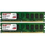 Komputerbay 4GB 2X 2GB DDR2 667MHz PC2-5300 PC2-5400 DDR2 667 (240 PIN) DIMM Desktop Memory