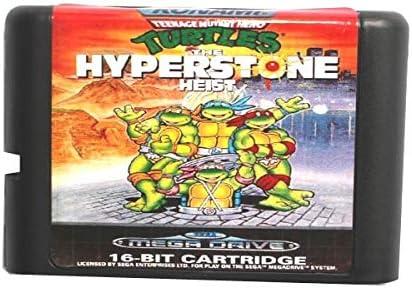 Amazon.com: Sega Md Game Card - Teenage Mutant Ninja Turtles ...