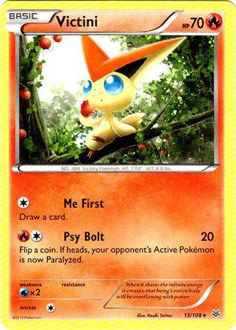 Pokemon - Victini (13/108) - XY Roaring Skies