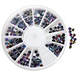 Accessories for beautiful nails 3D New Hot Nail Art Rhinestones Glitters Acrylic Tips Decoration Manicure Wheel#2
