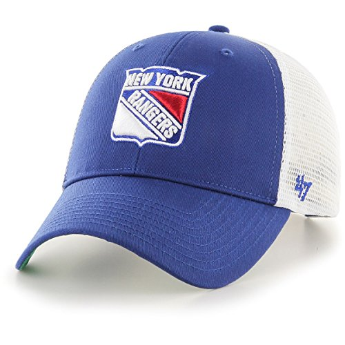 47 Brand Adjustable Cap - Branson New York Rangers Royal.   403ab04ce4cd