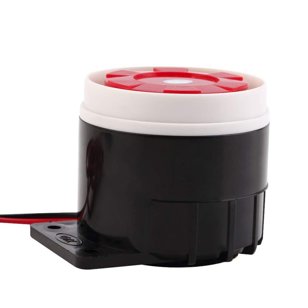 Mini Sirena con Cable para Sistema de Alarma de Seguridad del hogar 105 dB 12 V