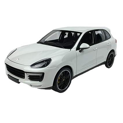 GAOQUN-TOY 1: 18minichamps Porsche Cayenne Turbo S Cayenne Alloy Car Modelo (Color