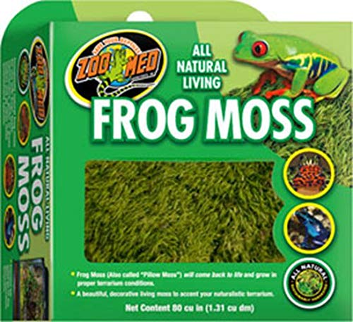 (Zoo Med Frog Moss, 80 Cubic-Inches)