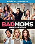 Cover Image for 'Bad Moms [Blu-ray + DVD + Digital HD]'