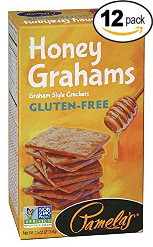 Pamela's Products Gluten Free Graham Crackers, Honey, (pack Of 12) by Pamela's Products