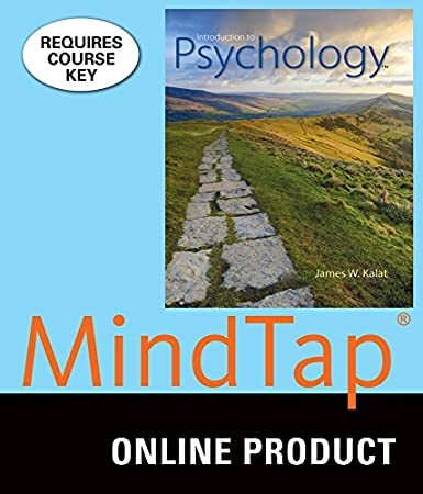 MindTap Psychology for Kalat's Introduction to Psychology, 11th Edition