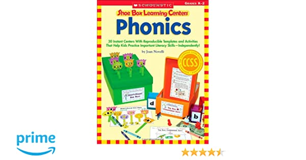 Workbook free phonics worksheets : Amazon.com: Shoe Box Learning Centers: Phonics: 30 Instant Centers ...