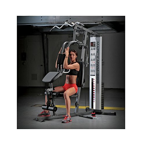 Marcy 150-pound Stack Home Gym (MWM-988) Marcy Weight Benches