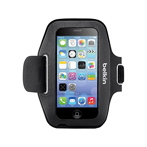 - Belkin Sport Fit Armband for iPhone 5/5S - Black (F8W367btC00-TG2)